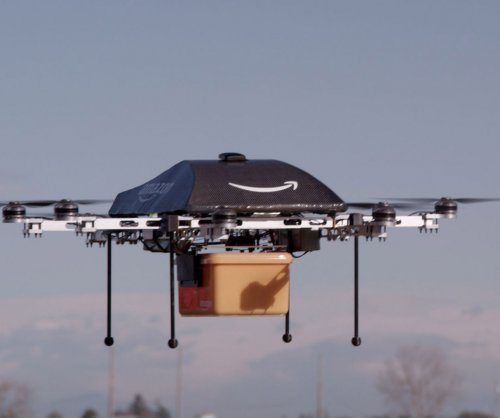 Amazon could start delivering packages by parachute