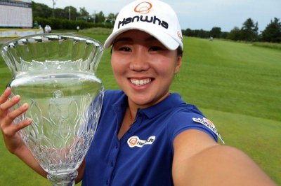 In-Kyung Kim wins ShopRite title with steady final round