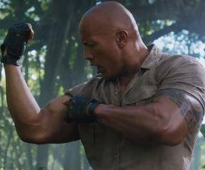 Dwayne Johnson shares first 'Jumanji' trailer with Kevin Hart, Jack Black