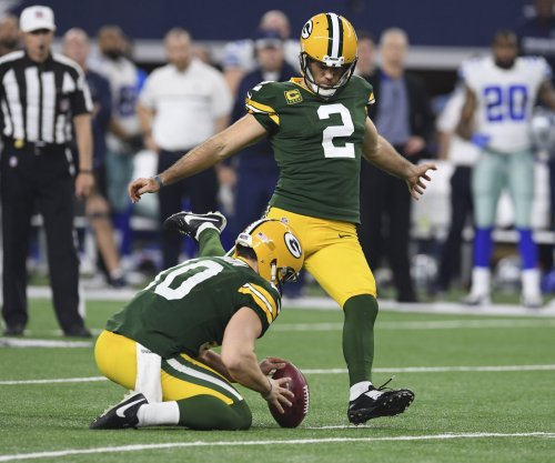 Green Bay Packers kicker Mason Crosby has practice to forget