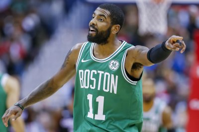 Celtics' Kyrie Irving ices Raptors with trey from parking lot