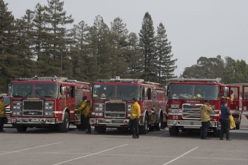 Gusty winds elevate fire risk in Southern California