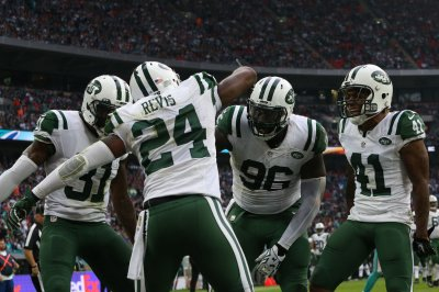 "All-Pro New York Jets cornerback Darrelle Revis ""fine"" with move to safety"