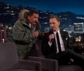 Tom Hiddleston sings in Spanish on 'Jimmy Kimmel Live'