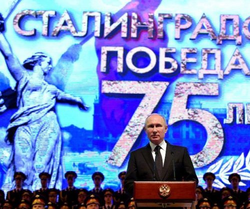 Putin leads ceremonies at 75th anniversary of Stalingrad battle