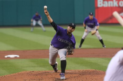 First-place Rockies go for sweep of reeling Phillies
