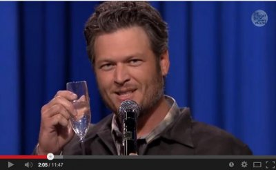 Gwen Stefani, Blake Shelton lip-synch battle on 'Tonight Show'