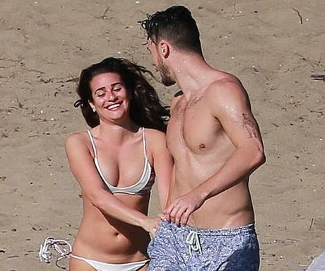 Lea Michele spotted with beau Matthew Paetz in Mexico