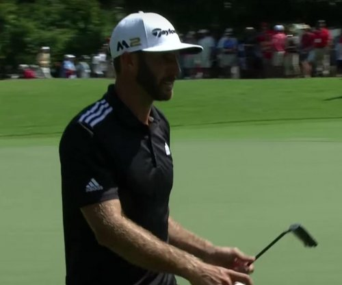 Dustin Johnson falters, shares lead with Kevin Chappell in Atlanta