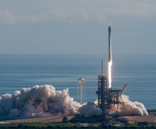 Reused SpaceX rocket carries satellite into orbit
