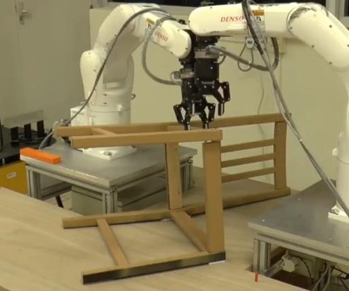 University's robot builds Ikea chair in about 20 minutes