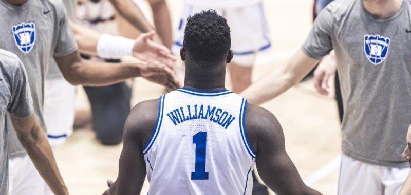 Duke Blue Devils  Zion Williamson day-to-day with Grade 1 knee sprain -  UPI.com fe2498784