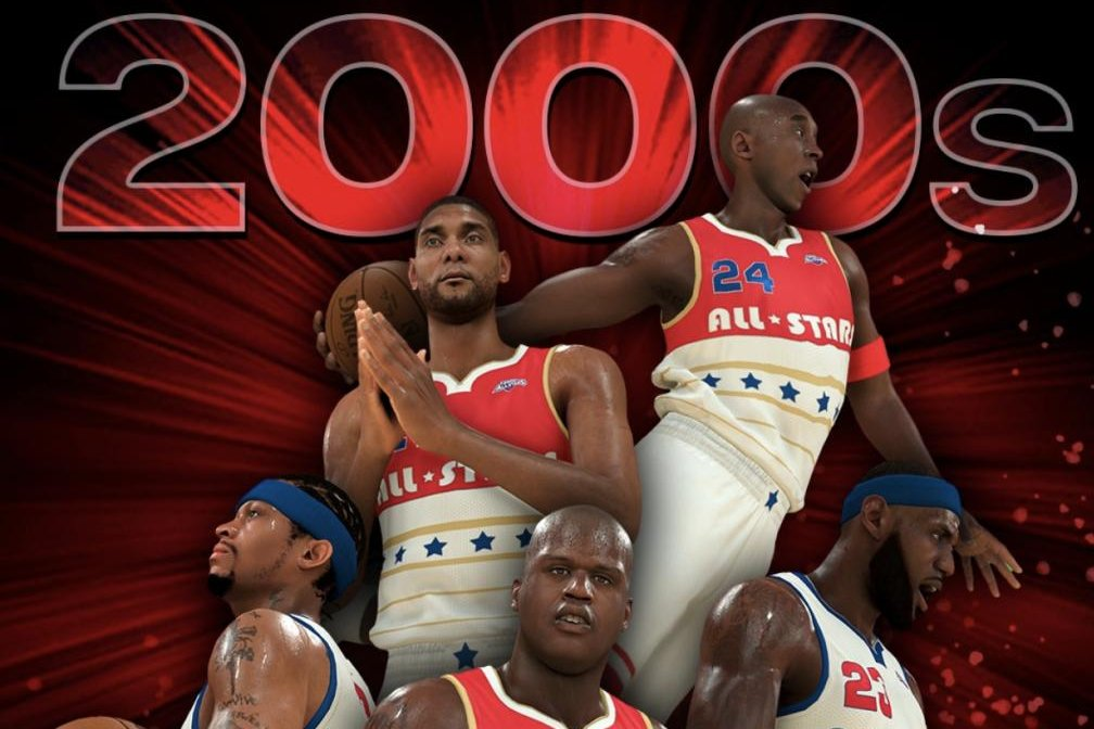 save off 1e7ba ad502 LeBron James, Michael Jordan included in 'NBA2K' All-Decade ...