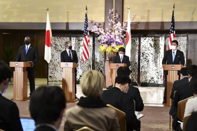 U.S., Japan agree on 'North Korea denuclearization' in first cabinet meeting