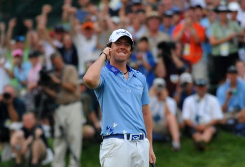 McIlroy second to Donald in golf rankings