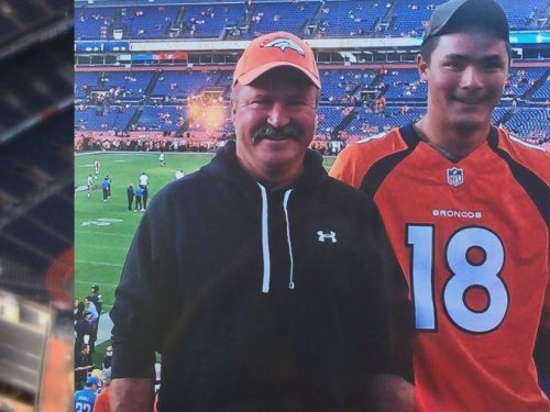 Missing Broncos fan found safe; went for a walk