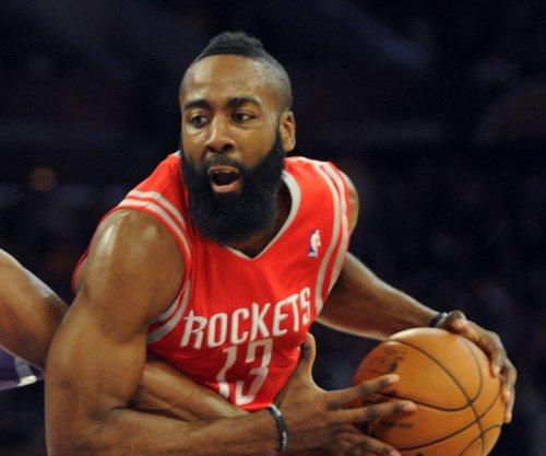 James Harden scores 44, Houston Rockets defeat Blazers