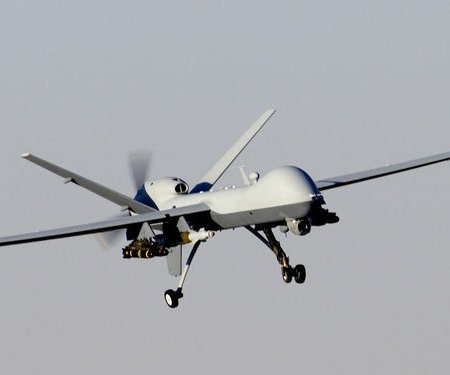 U.S. drone makes emergency landing in Turkish province bordering Syria