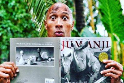 Dwayne Johnson says 'Jumanji' reboot will honor Robin Williams