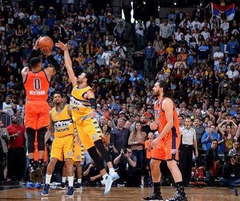 History: Oklahoma City's Russell Westbrook caps record-setting 42nd triple-double with game-winning 3 pointer