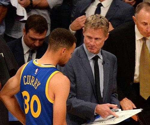 Golden State Warriors coach Steve Kerr returns for Game 2