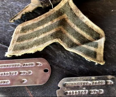 Lost dog tags returned to veteran after 60 years