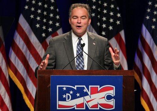 Kaine says he'll keep DNC chairmanship