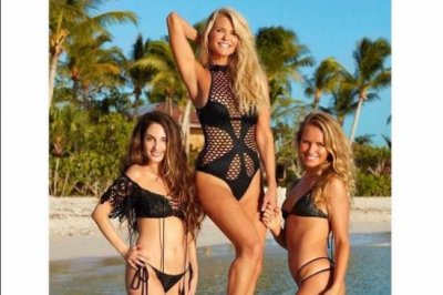 Christie Brinkley poses for Sports Illustrated swimsuit issue at 63