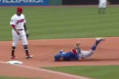 Jays' Solarte faceplants during horrible slide, hits game-winning grand slam