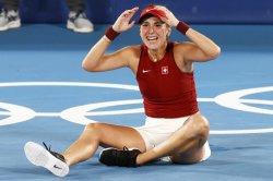 Switzerland's Belinda Bencic wins tennis gold medal, Novak Djokovic suffers another upset