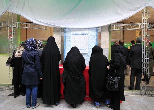 Major losses for Iran's defiant president