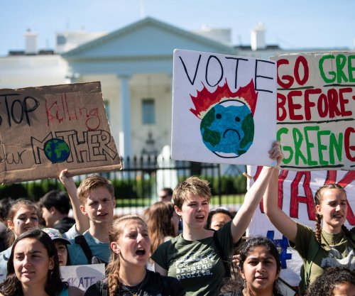Hundreds of thousands of students walk out in 2nd 'Global Climate Strike'