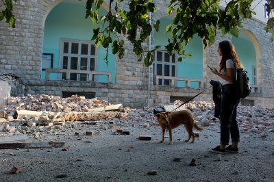 5.6-magnitude earthquake in Albania injures 68