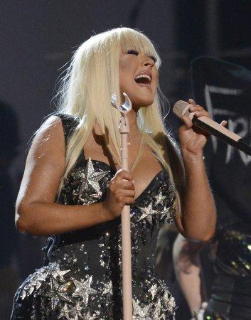 Christina Aguilera books People's Choice Awards gig