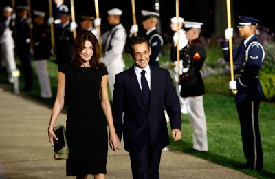 Sarkozy erupted over wife's love life talk