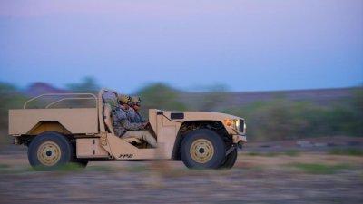Navy approves Boeing combat vehicle for transport on V-22
