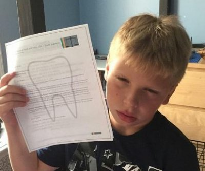 'Tooth Fairy' threatens to take chore-skirting boy's teeth in 'official letter'
