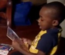 Parents live-stream 4-year-old reading 100 books in one day