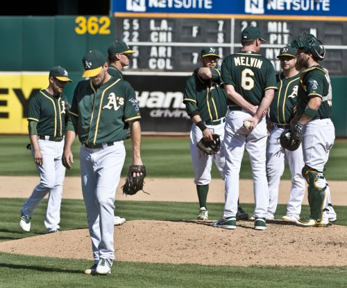 Oakland Athletics belt five homers in rout of Minnesota Twins