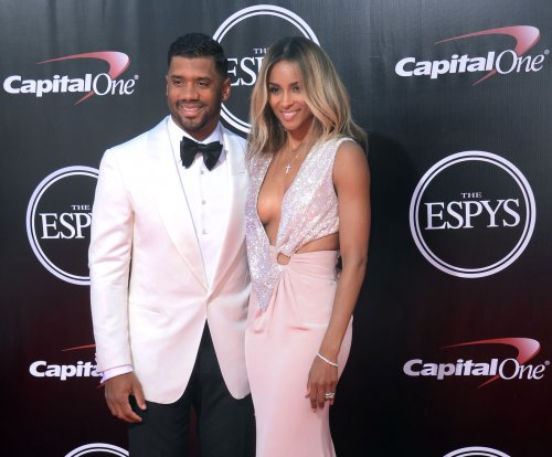 Ciara, Russell Wilson make red carpet debut as a married couple at the ESPYs