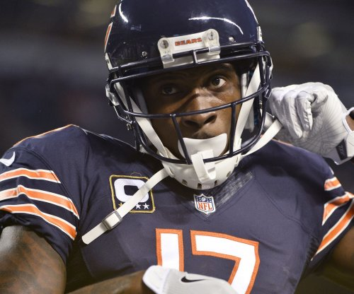 Chicago Bears WR Alshon Jeffery (hamstring) limited, Eddie Royal sits Thursday