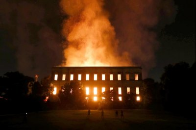 Fire destroys Brazil's National Museum with 20 million artifacts