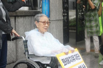 Japan reparations not the answer, former 'comfort woman' says