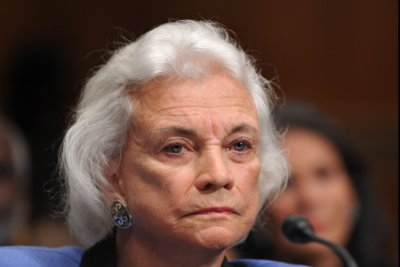Former Supreme Court justice Sandra Day O'Connor in early stages of dementia