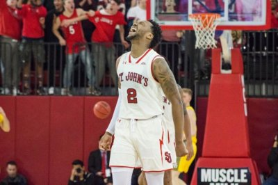 St. John's, Marquette get into scuffle during Red Storm's upset win