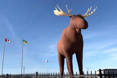 Canada wants to reclaim moose statue record from Norway