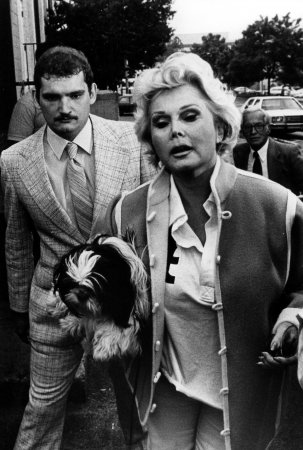 Zsa Zsa Gabor back in hospital