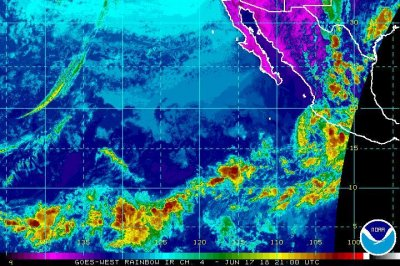 Tropical Depression Carlotta expected to dissipate Sunday night