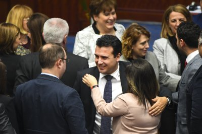 Macedonia Parliament gives final approval to name change