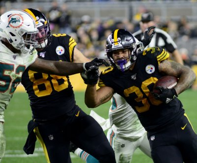 Pittsburgh Steelers' James Conner out vs. Arizona Cardinals